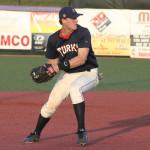 Third baseman Joe Napolitano (Wake Forest) was 3-4 and made several head turning plays.