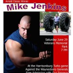 Mike Jenkins game poster