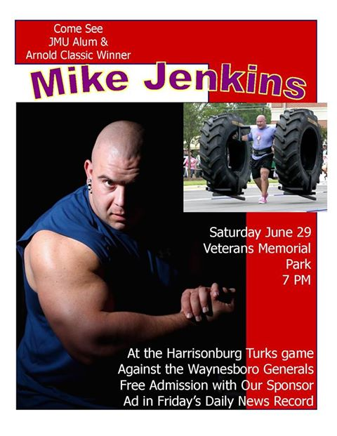 Jenkins Returns to Harrisonburg | Harrisonburg Turks