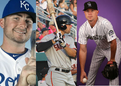 Three Alumni Invited to Spring Training