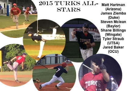 Congratulations to the 2015 Turks All-Stars
