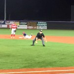 Shane Billings steals second