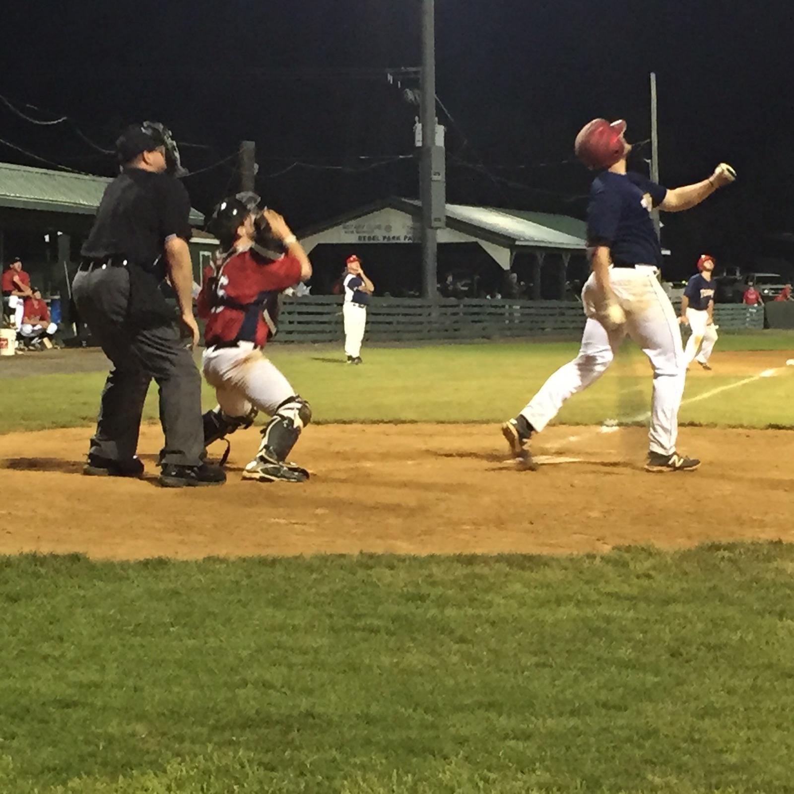 Jarod Baker (OVU) at bat on June 6