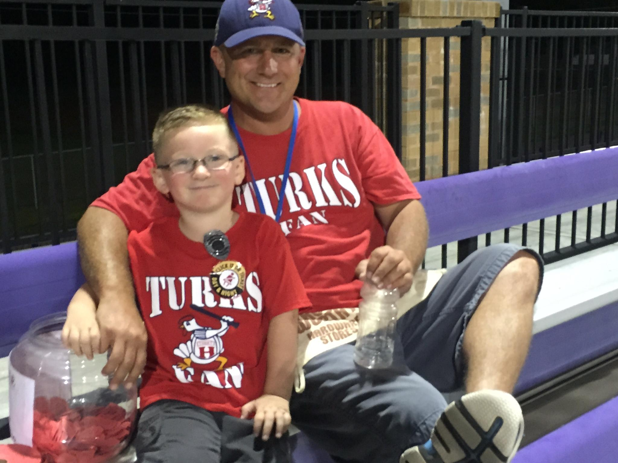 Father and Son Turk Fans