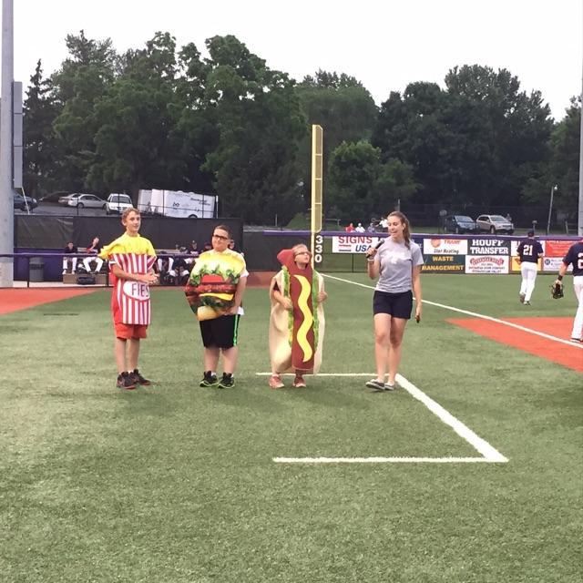 Fast Food Race on June 9 versus Waynesboro Generals